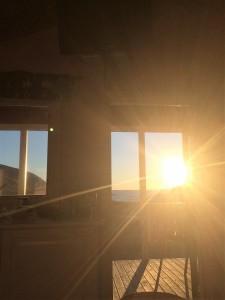 Solnedgång Landsort