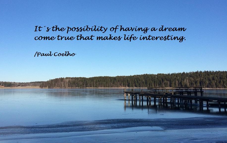 Follow dreams citat